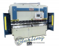 brand new baileigh 2 axis cnc hydraulic press brake BP-7098CNC