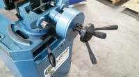 new scotchman (low turn, power clamping and manual head down feed) circular cold saws (for cutting steel, stainless, aluminum, brass, copper, plastics) CPO 350 LTPK