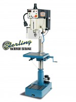 brand new baileigh manual feed inverter driven drill press DP-1000VS