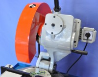 brand new acra manual (low turn, manual vise and manual down feed) circular cold saw (for cutting steel, stainless, aluminum, brass, copper, plastics) FHC 370T