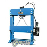 brand new baileigh manually operated/motor operated hydraulic press HSP-110M-HD