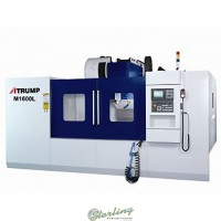 brand new atrump vertical cnc machining center M1600L