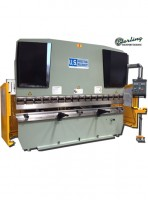 brand new u.s. industrial hydraulic press brake with front operated power back gauge & power ram adjust USHB44-6HM