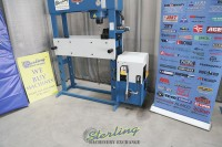 used (demo machinery) baileigh manually operated/motor operated hydraulic press HSP-66M-HD