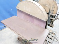 used wysong heavy duty dual disc sander 310