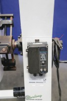 used p/a industries coil reel with adjustable shafts, includes: non powered- paper interleaf roll (like new condition) SRA-600