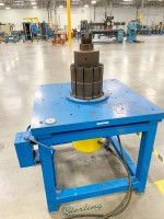 used expander multi segmented expander for ring expansion on appliance housings, bearing retainer rings, blower and fan housings, metal containers to heavy jet engine rings, glangers and motor generator frames and pipe couplings