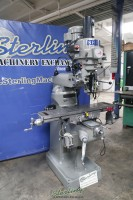 used sharp variable speed vertical milling machine LVM-42