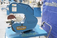 brand new baileigh 3 wheel variable speed belt grinder BG-260-3-110