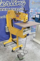 used (demo machinery) baileigh variable-speed bead roller BR-16E-36LT