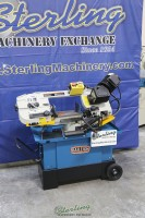 used (demo machinery)baileigh horizontal metal cutting band saw with vertical cutting option & mitering head BS-712MS