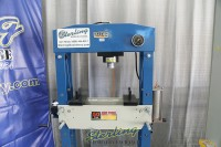 used (demo machinery) baileigh air/hand operated h-frame (gap) press HSP-50A