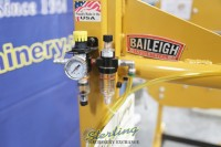 used (demo machinery) baileigh pneumatic operated planishing hammer PH-36A