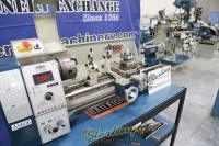 used (demo machinery) baileigh variable speed bench top lathe PL-1022VS