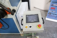 used (demo machinery) baileigh cnc hydraulic double pinch angle roll bending machine R-CNC55