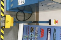 used (demo machinery) baileigh ring & angle roll bender R-M20-220