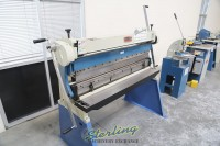 brand new baileigh 3 in 1 combination shear, brake & roll SBR-5216