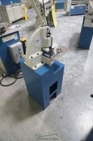 used (demo machinery) baileigh manually operated corner notcher, SN-F16-HN