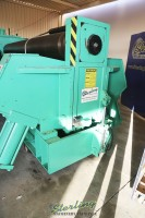 used montgomery 4 roll hydraulic plate rolling machine 4R-120100