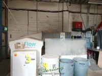 used flow waterjet cutting system