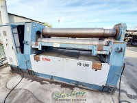 used durma 4 roll hydraulic plate rolling machine with cnc control with rectilinear guides HRB-4-3040