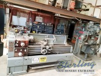 used sharp geared head gap bed engine lathe 1760K