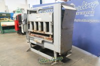 used ormont receding head large bed clicker press (60