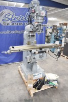 brand new acra variable speed knee milling machine