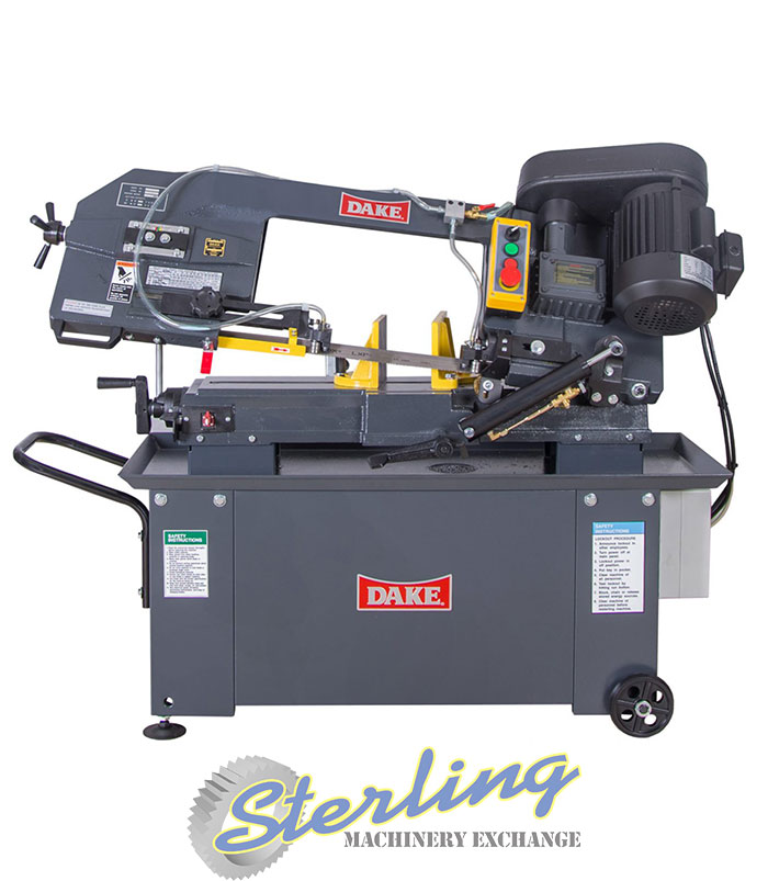 Brand New Dake Horizontal Bandsaw Wet Dry Cutting