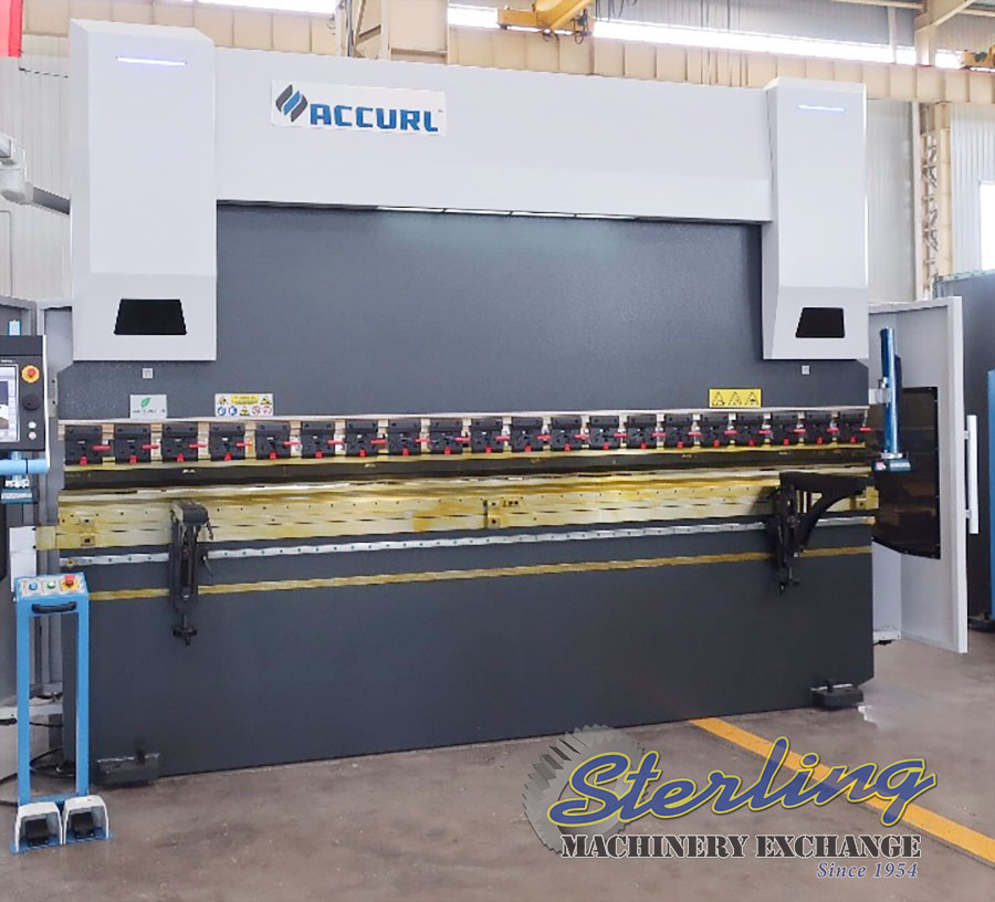 275 TON X 13' NEW ACCURLUSA CNC HYDRAULIC PRESS BRAKE, MDL. , DELEM DA66 TOUCH CONTROL SYSTEM (OFFLINE SOFTWARE), CNC CROWNING, LASER SAFETY PROTECTION, TOP & BOTTOM SECTIONALIZED TOOLING WITH QUICK CLAMP SYSTEM, HORBEIGER HYDRAULICS, ECO-ENERGY SAVING DRIVE, SIEMENS MOTOR & ELECTRICAL, A/C ELECTRICAL CABINET, PEDESTAL FOOT CONTROL, 6+1 AXIS (Y1, Y2, X/R, Z1/Z2), WRITE IN STOCK & SHIP TODAY, 3 YEAR WARRANTY, TRAINING, AND INSTALLATION INCLUDED!!!!!!!, LOCATED IN SALT LAKE CITY, UTAH, YEAR (2017) #CD5113
