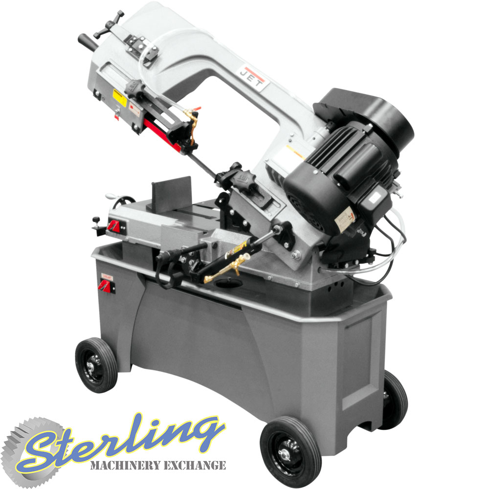 brand new jet deluxe horizontal/vertical bandsaw with coolant system HVBS-712D